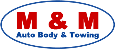 M & M Auto Body & Towing - logo